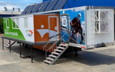 Empresa marplatense exportó un aula móvil a Chile