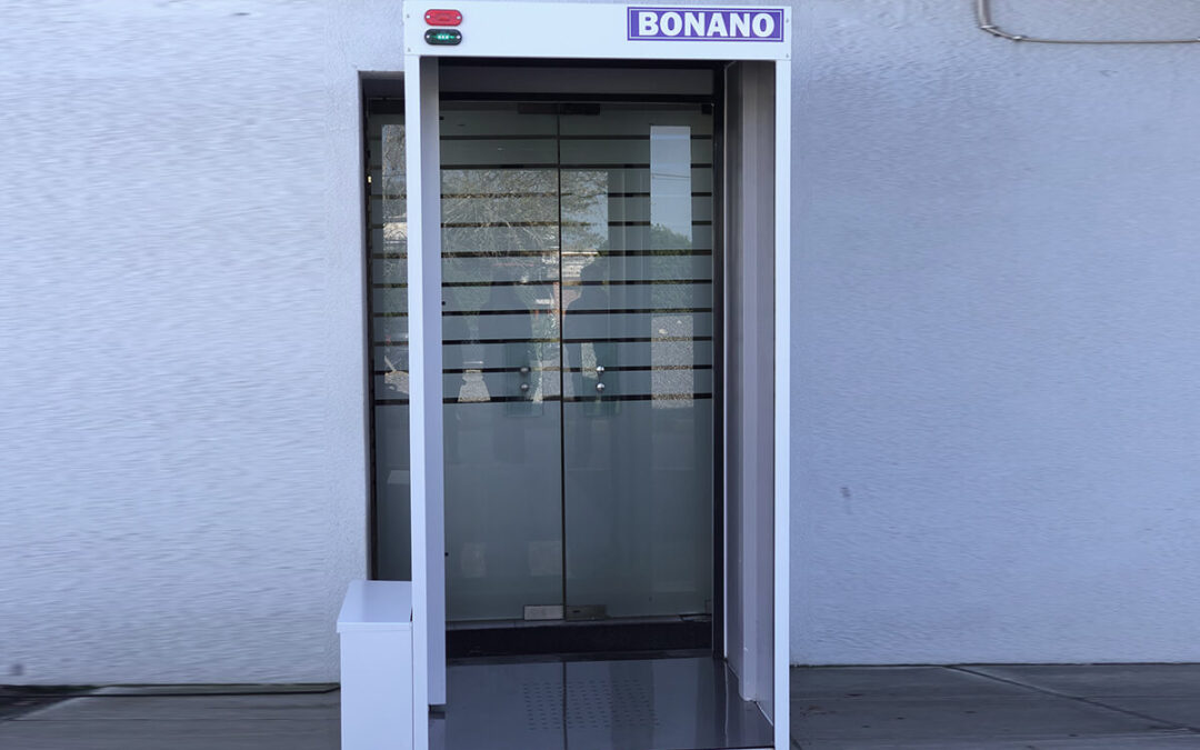 La Metalúrgica Bonano S.A. comenzó a producir cabinas sanitizantes en Mar del Plata